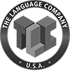 the language company logo